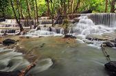Huay Mae Khamin Waterfall — Stock Photo