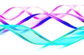 Ribbon isolated — Stock Photo