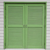 Holzfenster — Stockfoto