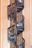 Spiral staircase.Upside view of a spiral staircase — Zdjęcie stockowe