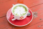 热绿茶 — 图库照片