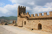 Genoese fortress — Stock Photo