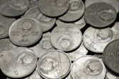 USSR coins background — Stock Photo