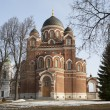 St Vladimir's Cathedral in Spaso-Borodinskiy monastery — Stock Photo
