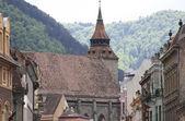 Den svarta kyrkan, brasov, rumänien — Stockfoto
