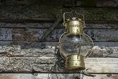 Old kerosene lamp — Stock Photo
