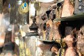 Antika föremål i turkiska basaren — Stockfoto