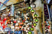 Antique Objects in Turkish Bazaar — Stock Photo