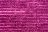 Pink ribbed corduroy texture background  — Stock Photo