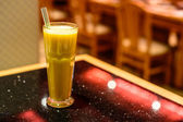 A glass of Mango Smoothie  — ストック写真