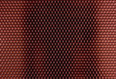 Red Metal Hex Cells Texture — Stock Photo