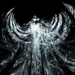 Abstract angel background — Stock Photo