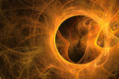 Abstract star flames background — Stock Photo