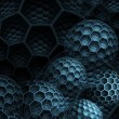 Abstract futuristic background — Stock Photo