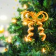 Stock Photo: Christmas-tree decoration as