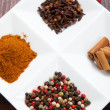 Stock Photo: Seasoning spices