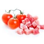 Tomato sauce ingredients, amatriciana — Stock Photo #40565683