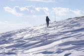 Winter hiking in the Mountain, Bulgaria — Stock Photo