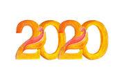 Year 2020 — Stock Photo