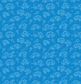 Cars. Seamless pattern. — Stockvektor