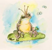 Frog princess — Stock fotografie