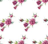 бесшовный узор из роз. — Стоковое фото
