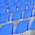 Plastic chairs — Stock Photo