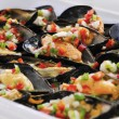 Vinaigrette Moussels — Stock Photo #38384763
