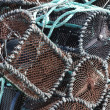 Stock Photo: Traditional traps for capture fisheries and seafood