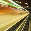 Speed subway tunnels — Stock Photo