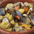 Stock Photo: Shellfish stew