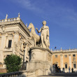 Campidoglio stairs square — Stock Photo