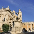 Stock Photo: Campidoglio stairs square