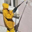 Stock Photo: MWorking Pressure Washers