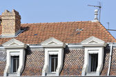 Detail of buildings — Foto Stock