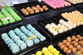 Macarons of different flavors. — Stock Photo