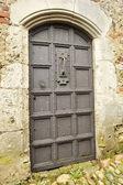 Ortaçağ kale kapı — Stok fotoğraf