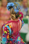 Flamenco dance contest — Stock Photo