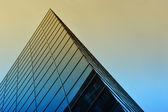 Steel glass building — Stock Photo