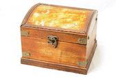 Caixa de madeira — Foto Stock
