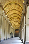 Arched hallway of Museum in Lyon — Foto Stock