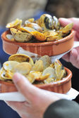 Rations Marinated clams — Stock Photo