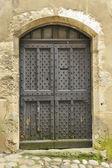 Porta da cidadela medieval — Fotografia Stock