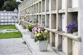 Mausoleer, gravar och begravning — Stockfoto