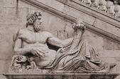 Roman capitol square — Stock Photo