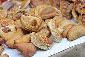 Flaky fish dumplings, — Stockfoto