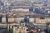 View of Lyon, France — ストック写真