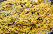 Hiszpanski paella — Zdjęcie stockowe