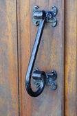Iron latch — Stock Photo