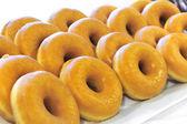 Donuts texture — Stock Photo